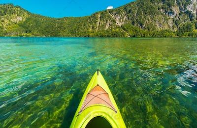 Scenic Lake Kayaking