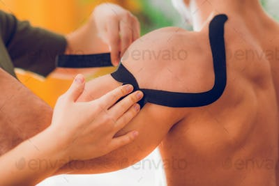 Kinesio taping for shoulder pain