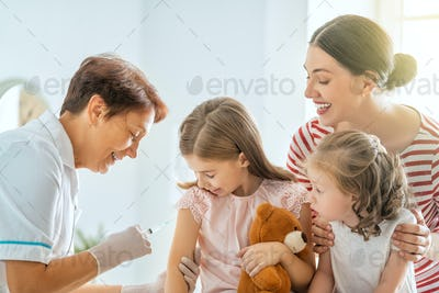vaccination to child