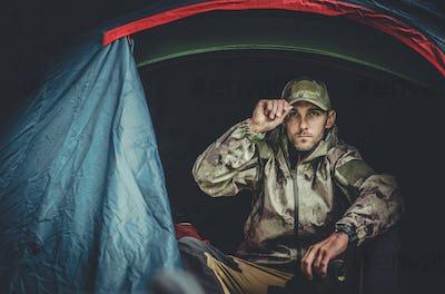 Pro Hunter Spotting Wildlife