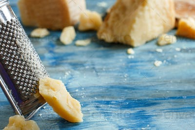 Aged parmesan cheese