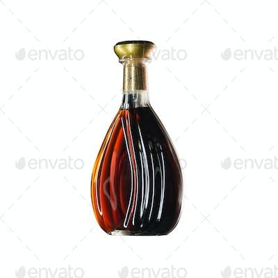 The wine bottle