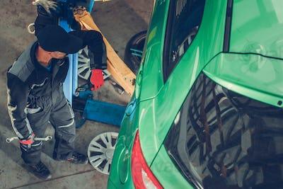Car Mechanic Repair Station