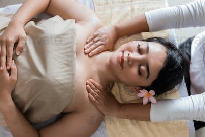 beauty Healthy massage of body