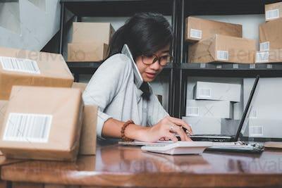 self employed business woman