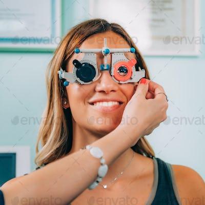 Ophthalmology. Visual Chart