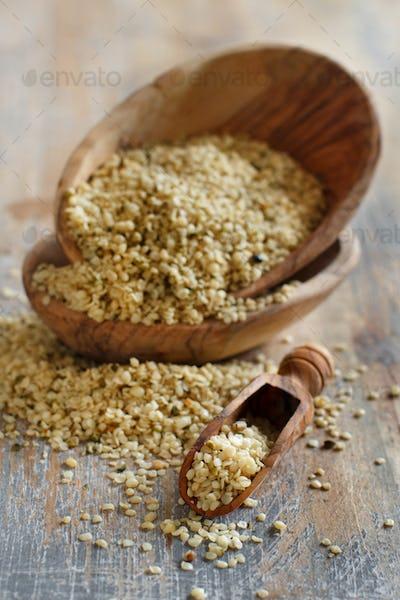 Raw Hemp seeds