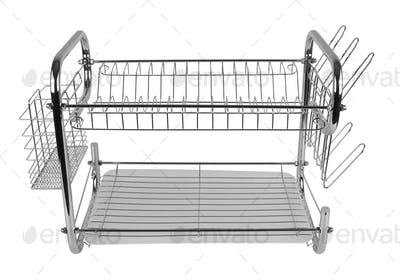 dish drainer isolated