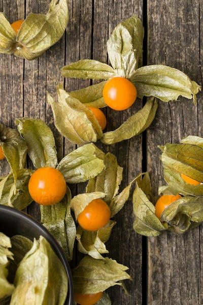 Physalis peruviana fruit.