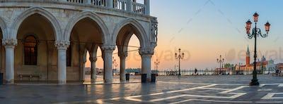Venice ancient palace