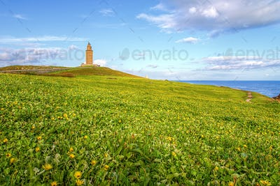 Ancient Roman Lighthouse