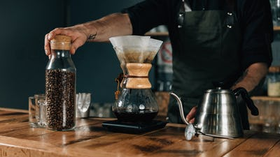 Chemex Filter Coffee And Kettle