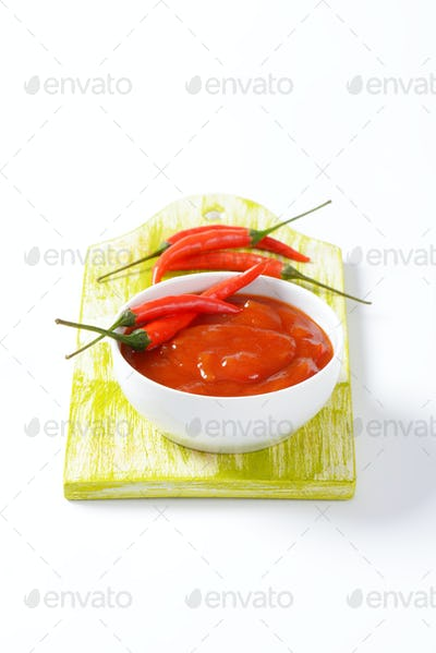 Hot Tomato-Pepper Sauce