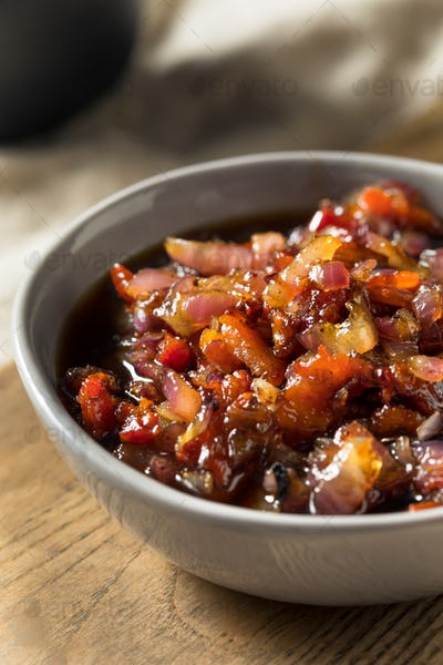 Homemade Sweet Maple Bacon Marmalade