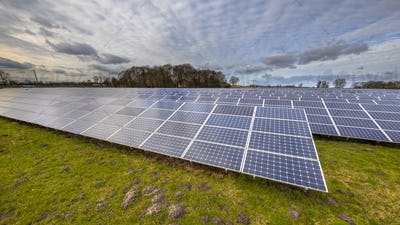 solar energy panels clean energy background