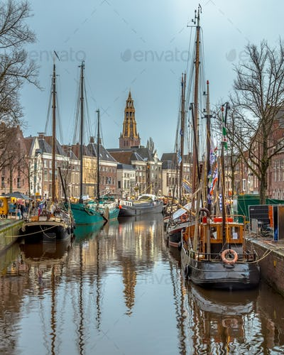 View Historic sailing ships Groningen