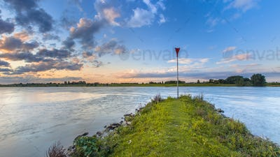 strekdam Pier in the Rhine