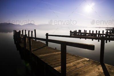 Lake Massaciuccoli in Versilia