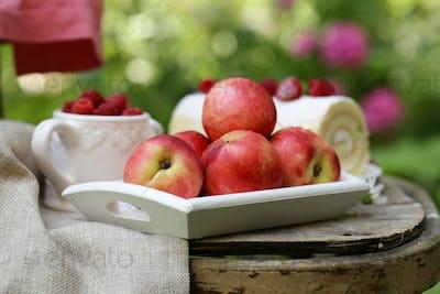 Organic Peach Fruit