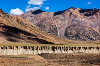 Landscape in Himalayas. Himchal Pradesh, India