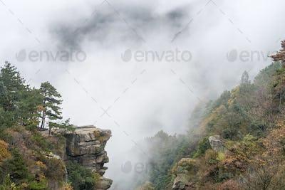 beautiful lushan autumn landscape
