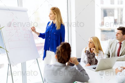 Presentation and collaboration by business people