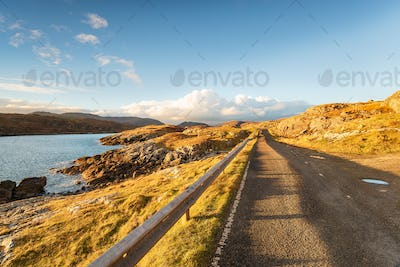 The Golden Road on the Isle of Harris