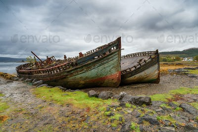 Fishing Boats on the Isle of Mull
