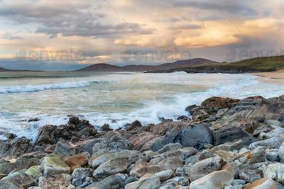 Traigh Lar Beach on the Isle of Harris