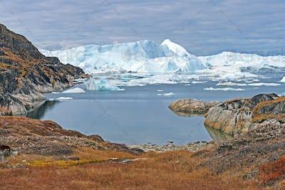 Icebergs Sneaking around the Corner