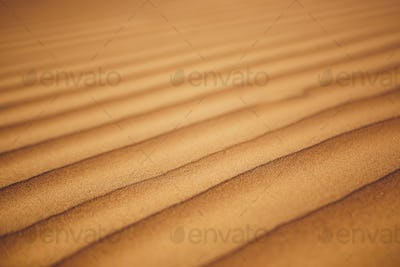 Close-up view of sand dunes