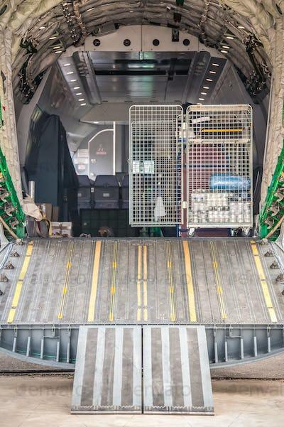 aircraft cargo bay