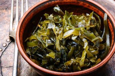 Bowl of sea kale