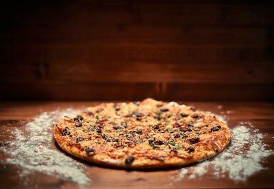 Italian delicious pizza