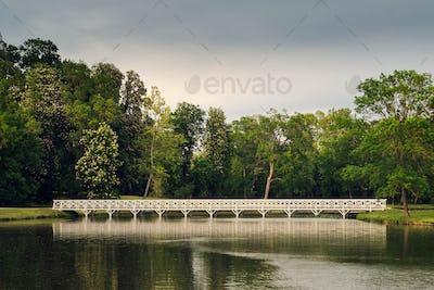 Bridge over the pond