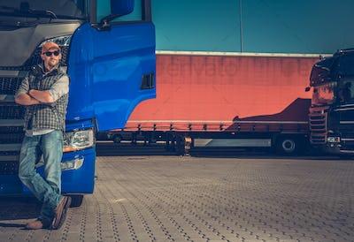 Short Truck Stop Break