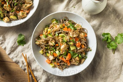 Healthy Homemade Soba Noodle Bowl