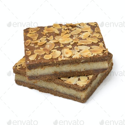 Typical Dutch treat called gevulde speculaas