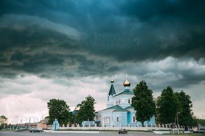 Belarus. St. John The Korma Convent Church In Korma Village, Dob
