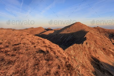 The Urlea Peak in Fagaras Mountains