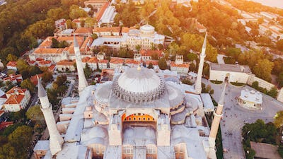 mosque in Istanbul Turkey