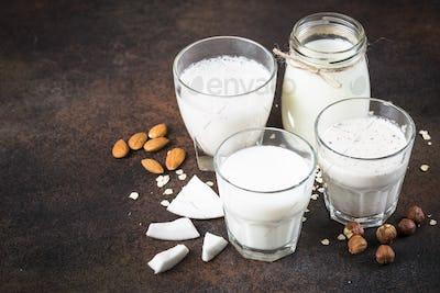 Vegan non dairy alternative milk