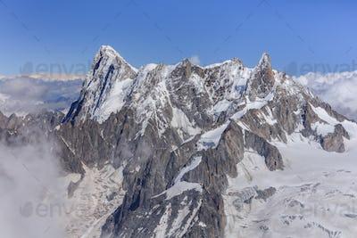 Grands Jorasses Mountain.