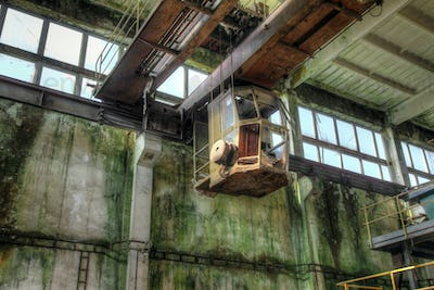 Abandoned iron mine in the Ore Mountains