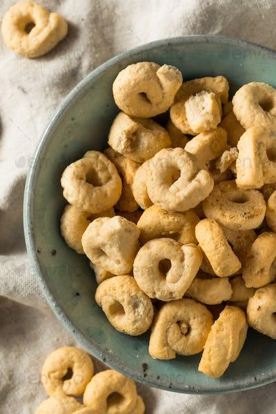 Olive Oil Itlian Taralli Cracker Cookies