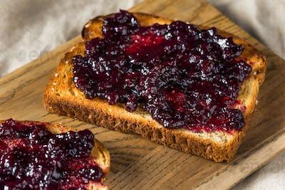 Organic Homemade Blueberry Huckleberry Preserves
