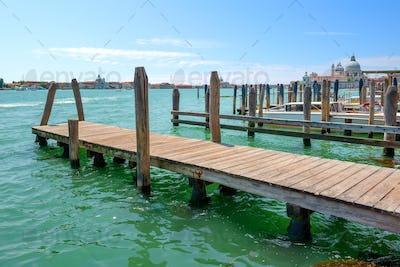 Piers in Venice