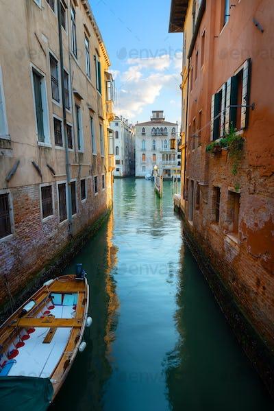 Street on water