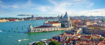 Venetian cityscape by day