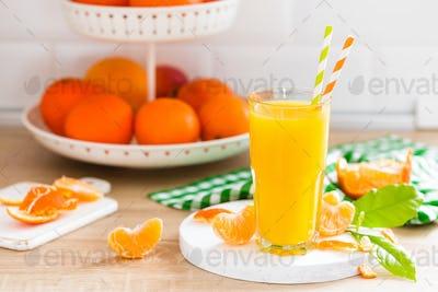Tangerine orange juice